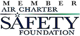 Accredited Award Air Charter Safety Foundation Member