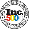 Accredited Awarded to Inc.5000