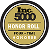 Accredited Award Honor Roll Inc.5000 Four Time Honoree